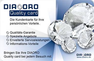 DIAORO Quality card